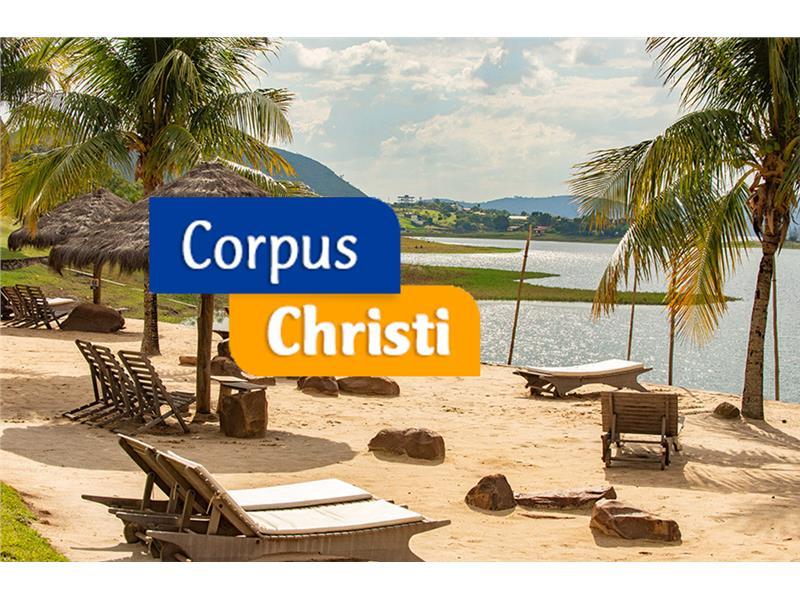 Corpus Christi 2021 - minimo 4 noites